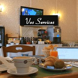 services hotel la potinière Bagnoles de l'orne Normandie