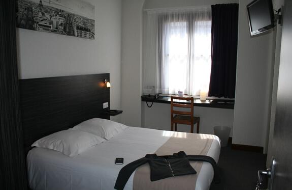 chambre confort hôtel la potinière Bagnoles de l'orne Normandie